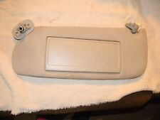 00-04 Dodge Intrepid Right Passenger Side Sun Visor Shade Gray OEM W/CLIP