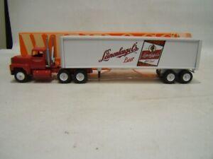 Winross Leinenkugel Beer Tractor Trailer Ford Cab 1993 MIB 1/64 Diecast