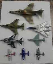 Lot Of 8 Assorted Die Cast Planes Matchbox(1)Tootsie(3) ERTL(1),  Racing Champ