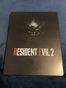 Rare Resident Evil 2 Steelbook No Game