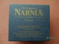 The Chronicles of Narnia boxed 7 cassette audio books 1995