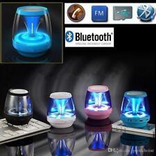 Bluetooth Speaker With LED Lights & Enhanced Bass. TF Card Slot. 4 Colours