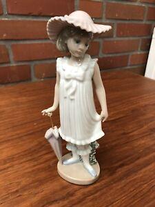 lladro Figur Mädchen 19cm