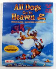 Baio ALL DOGS GO TO HEAVEN 2 Collectible Sticker Album NEW (w/o Stickers)