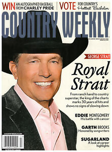 Country Weekly Magazine March 28 2011 George Strait The Band Perry Charley Pride