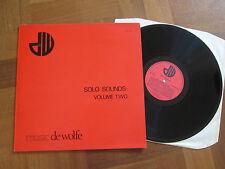 Music de Wolfe - Solo Sounds: Volume Two - Sound Library LP