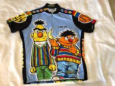 Rare Pearl Izumi Sesame Street Cycling Jersey Mens Xl Extra Large Bert Ernie