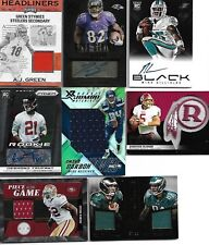SUPER NFL HOT PACK! Guaranteed Hit! Auto, Jersey, or Patch Auto! 20 Cards per!
