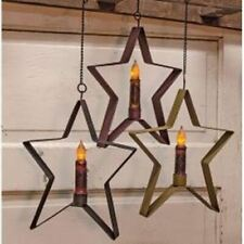 Rustic Country Primitive Whimsical Hanging Star