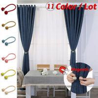 Creative Magnetic Curtain Hooks Rope Buckle Tie Backs Holdbacks Home Decor