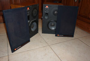 JBL STEREO  LOUD SPEAKERS VINTAGE Studio Monitors 4406 PROFESSIONAL 2 WAY SYSTEM
