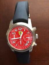 Girard Perregaux Ferrari 360GT Mens 18K White Gold Chrono Watch NEW PHOTOS Price