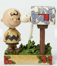 Jim Shore Peanuts Charlie Brown & Snoopy Special Delivery 4042380