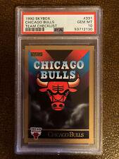 1990 Skybox Chicago Bulls (Michael Jordan) #331 PSA 10, POP 10! Incredibly Rare!