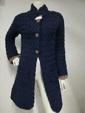 Odd molly cardigan jacket knited size 1 blue tick tack