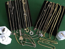 house clearance Collection Of Necklaces Bracelets Pendants Rings