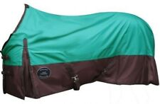 """68"""" TEAL 600 Denier Waterproof Turnout Horse Sheet by Showman! NEW HORSE TACK"""