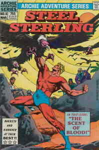Steel Sterling Young Steelers Volume 1 #5 Archie Adventure Series March 1984 NM