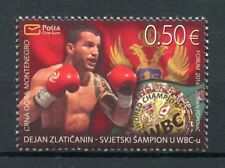 Montenegro 2017 MNH Dejan Zlaticanin WBC World Champion 1v Set Boxing Stamps