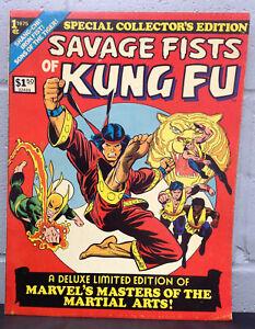 Savage Fists of Kung Fu (1975) Treasury - High Grade