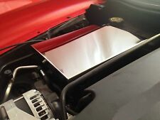 Corvette C7 2014-2017 FUSE BOX COVER (LARGE STYLE) chrome stainless engine