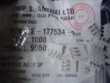 25pcs Amp 2-177534-3 2.5 mm 3 posizione m.i.s Rec ASSY Connettori