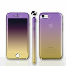Front and Back Silicone Gel Screen Protector Case/Cover for Apple iPhone 5/5s/SE