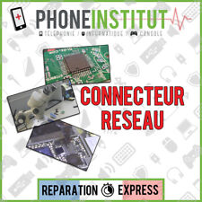 Reparation carte mere iphone 5S connecteur antenne
