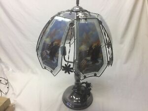 Eagle and flag Touch Lamp 24 inch