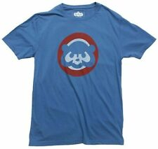 Chicago Cubs Vintage Logo T Shirt 2XL Red Jacket NWT Cubbie Bear Retro
