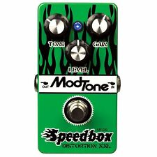 ModTone Speedbox distortion pedal + 100 recycled guitar picks!!!