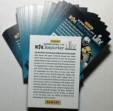 2019 Panini Kid Reporter Code Cards - 75 Never Used Code Cards