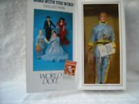 """ASHLEY WORLD DOLL GONE WITH THE WIND 12"""" 2ND ISSUE """"MIB"""" W/TAG & CERTIFICATE"""