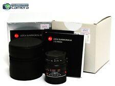Leica Summicron-M 50mm F/2 Lens 6Bit Black 11826 *BRAND NEW*