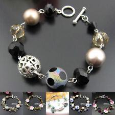 Glass Alloy Beaded Fashion Bracelets