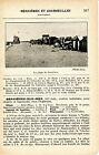14 Bernières et Courseulles-sur-Mer 1927 photo + guide (2 p.) hôtels plages