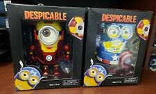 MARVEL Despicable Me Iron Man & Captain America Set Minions Thinkway Toys