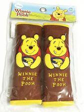 Winnie the Pooh Disney Car Accessory : 2 pcs Seat Belt Shoulder Pad Covers #10