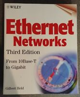 Ethernet Networks (Third Edition) by Gilbert Held published by WILEY / 510 pages