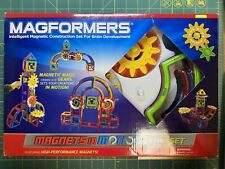 Magformers Magnets in Motion 61 Piece Gear Set #63205 New Rare