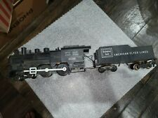 AMERICAN FLYER 21166 STEAM LOCOMOTIVE AND COAL TENDER, Lot # 570 & 624