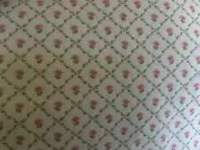 Vintage Laura Ashley Kate Cotton Fabric Remnant Patchwork