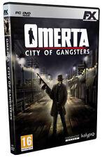 Omerta City of Gangsters Pc Edizione Italiana Sigillato