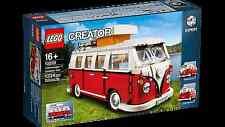 LEGO CREATOR 10220 VW VOLKSWAGEN T1 CAMPER VAN BULLI RED / WHITE VERY RARE BNMIB