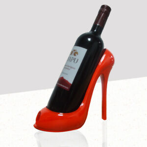 Heel Shoe Shape Wine Bottle Holder Creative Wine Shelf  Wine Rack Bar Accessory