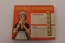 Kaufhaus Kinderglück Kaufladen Zubehör Spielgeld Scheine Rabattmarken Block