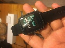 Amazfit BIP Smartwatch + 2 Silicon Case (Hardly Used)
