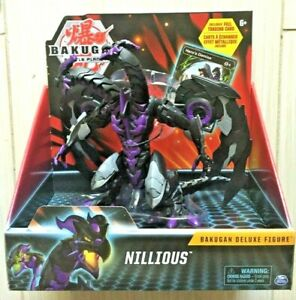 Bakugan Battle Planet NILLIOUS Deluxe Action Figure With Card