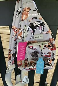 Vera Bradley BEST IN SHOW Puppy DOG Dogs ReActive MINI SLING Backpack NWT EXACT