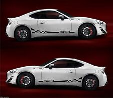 Toyota GT86 Boxer GTS scion FR-S Subaru brz Hachi-Roku TRD racing stripes decal